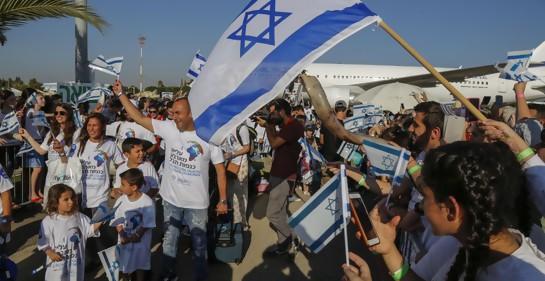 En el 2018 aumentó la inmigración a Israel