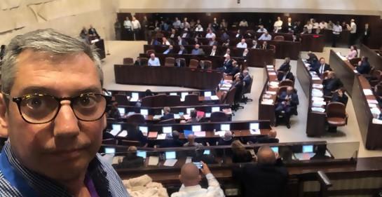 """Con Carlos Enciso, intendente de Florida: """"Hay un antes y un después del viaje a Israel""""."""