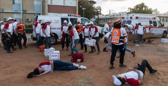 Israel con el número más alto de paramédicos adolescentes del mundo
