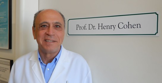 Conversación enriquecedora con el  Profesor Dr. Henry Cohen.