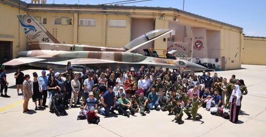 Singular programa de la Fuerza Aérea israelí apoya a niños con cáncer