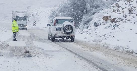 Nieve en Israel