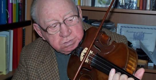 """Esta era la historia de """"Violinista de Auschwitz"""" Jacques Stroumsa."""
