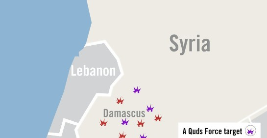 Fuerte escalada en el norte. Israel ataca blancos de Irán en Siria y baterías de fuego anti aéreo sirias.