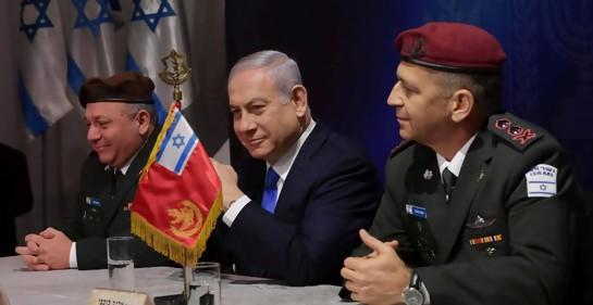 """Netanyahu advierte a Irán que se vaya de Siria """"lo antes posible""""."""