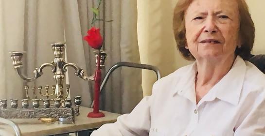 Clara Drak, la niña judía-hoy uruguaya- que se salvó como católica.