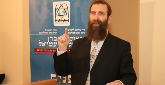 Eliahu El Rabino Eliahu Birnbaum: buscando hermanos perdidos.