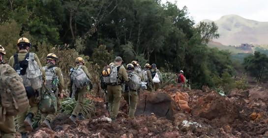 La delegación de la Unidad de Rescate de Israel ya está trabajando en Brasil