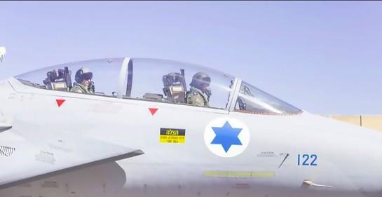 De película: la saga del F 15 israelí que perdió la cubierta de la cabina del piloto… y el vínculo palestino