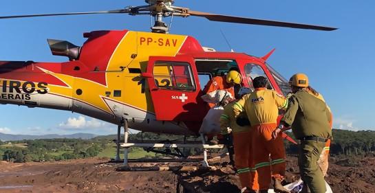 La delegación israelí recupera cuerpos en la zona del derrumbe en Brasil