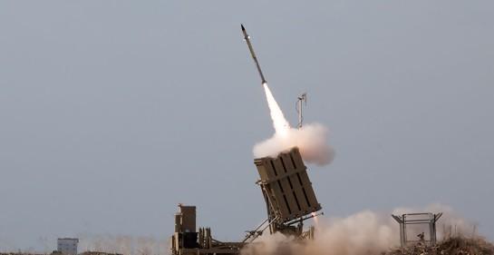 """La """"Cúpula de Hierro"""" interceptó un misil disparado hacia los Altos del Golan en Israel"""