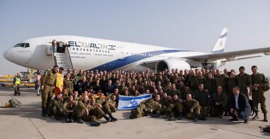Partió la delegación de rescate israelí a Brasil