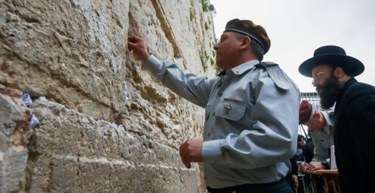 Una original despedida fotográfica del jefe de las Fuerzas de Defensa de Israel