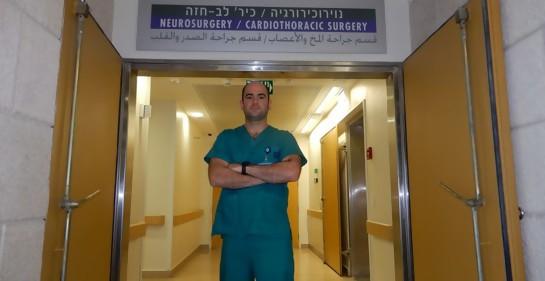 Un hospital en pie para salvar al pequeño Yusef