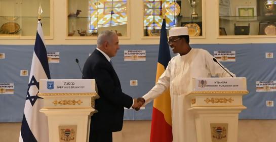 Histórico: Israel y Chad reanudaron relaciones diplomáticas