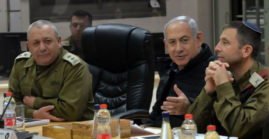 Israel confirmó que atacó el viernes blancos de Irán en Siria