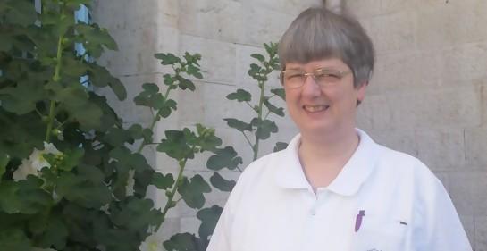 Monja, enfermera, directora del Hospital israelí Saint Louis para enfermos terminales