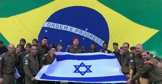 Los rescatistas israelíes terminan su misión en Brasil
