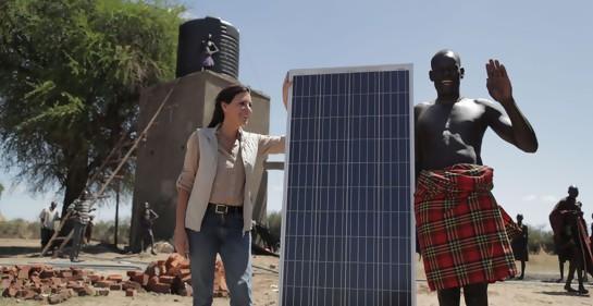 Sivan Yaari, la israelí que lleva luz y agua a África
