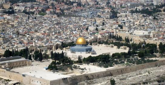 Enfrentamientos en el Monte del Templo: incendio causado por cocteles molotov