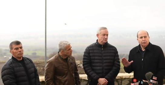 Gantz: Frenaremos a Irán en Siria, Líbano y Gaza