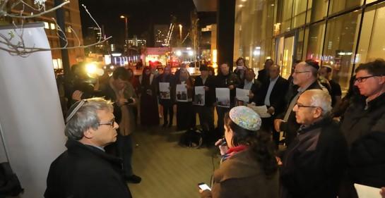 Acto recordatorio de víctimas musulmanas en mezquitas, judíos y musulmanes juntos