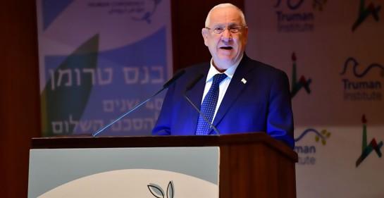 El Presidente de Israel pone los puntos sobre las íes