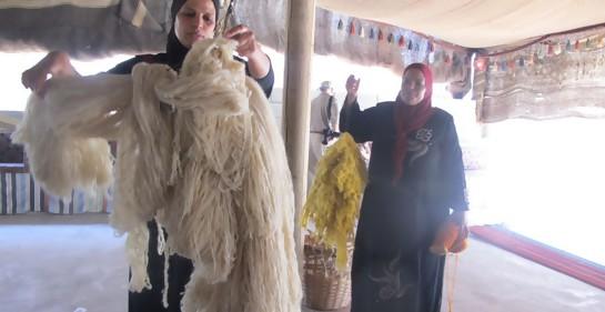Las mujeres beduinas