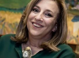 La periodista hoy política Mónica Bottero
