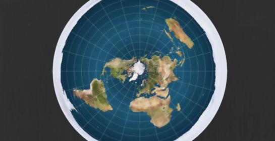 Y un día… decidieron que la Tierra es plana