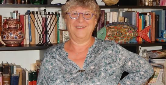 Ethel Barylka en su casa
