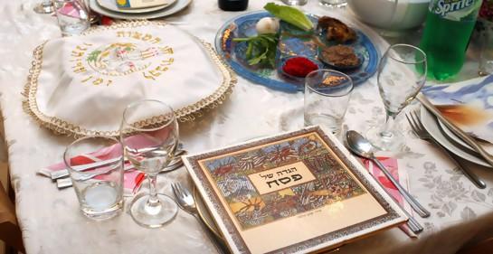 Tradición, en la mesa de la festividad judía de Pesaj