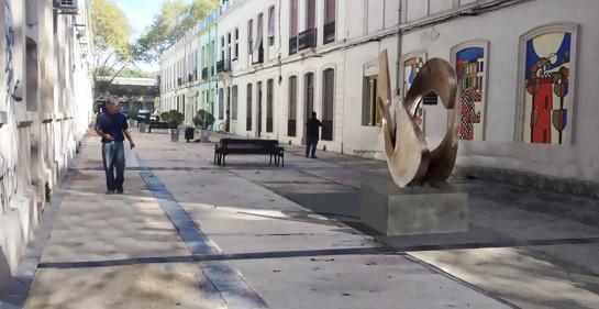 Escultura de Nora Kimelman ideada para Emilio Reus