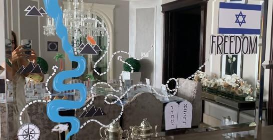Silvina Behar y su mesa del Seder