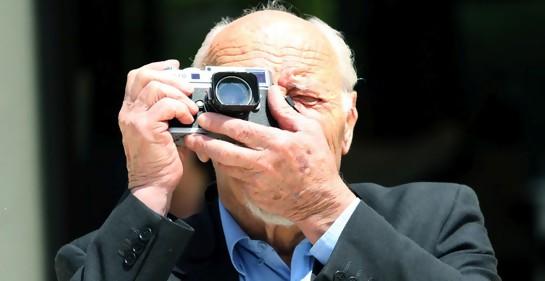 El fotógrafo israelí David Rubinger