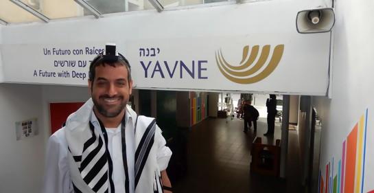Rabino Oved Avrej de  Yavne Uruguay