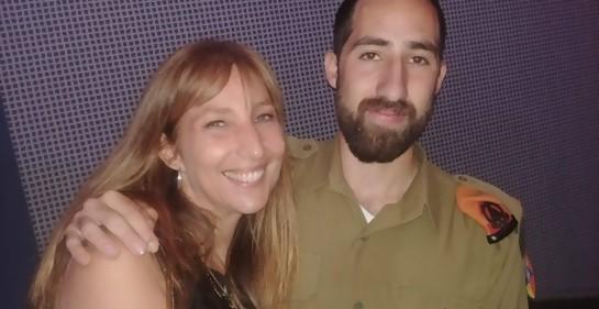 El joven uruguayo-israelí Fabián Sandobal Broder, elegido soldado sobresaliente
