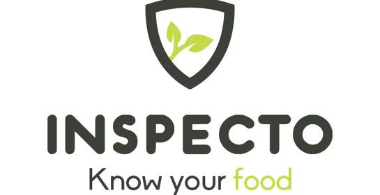 inspecto, conoce tu comida, dice el logo de la compañía israelí