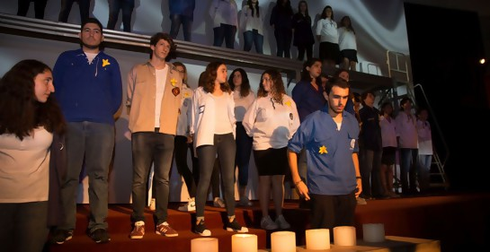 Una imagen del acto de Iom Hashoa 2018  (Foto: Tamar Rausky)