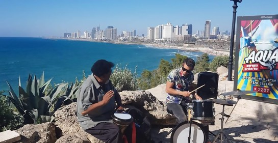 Ruben Rada está en Israel