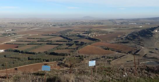 Los cambios en la frontera entre Israel y Siria