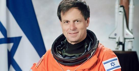 El astronauta israelí Ilan Ramon