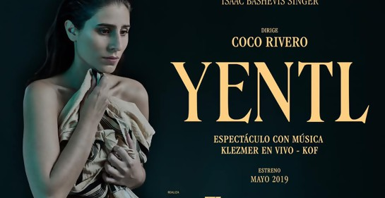 """Con la actriz Melanie Catan, ante su nuevo desafío: """"Yentl""""."""