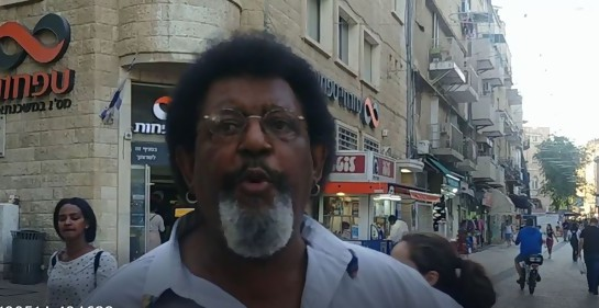 Ruben Rada en Jerusalem
