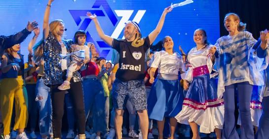 Festejo del cumpleaños 71 de Israel en el Radisson