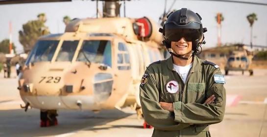 Historia en Israel: primer piloto de combate miembro de la comunidad drusa.