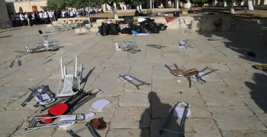 Musulmanes atacan judíos que recorren el Monte del Templo