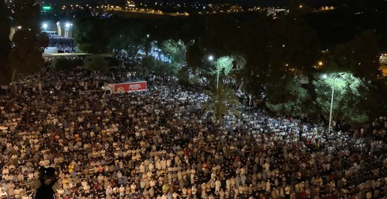 Mira cómo se celebró en Jerusalem la noche más sagrada del Ramadan
