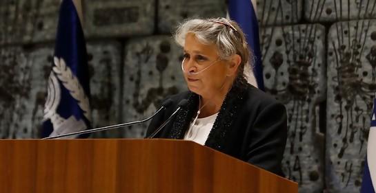 Nejama  Rivlin,la Primera Dama de Israel