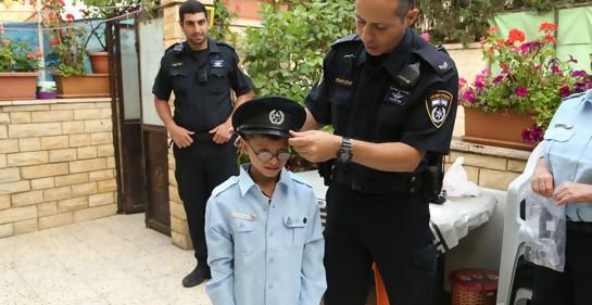Yaaqub Ibrahim, el policía más joven de Israel.